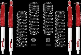 2018 - 2007 Jeep Wrangler JK 4 Door - 2-in. Sport System w/RS5000X Shocks - RS66119BR5