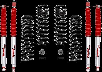 2018 - 2007 Jeep Wrangler JK 4 Door - 2-in. Sport System w/RS9000XL Shocks - RS66119BR9