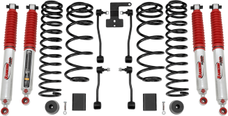2018 Jeep Wrangler JL Unlimited Rubicon 4WD - 2-in. Sport Suspension System w/ RS9000XL Shocks - RS66122BR9