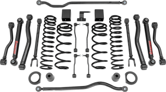 2018 Jeep Wrangler JL Rubicon 4WD - 3.5-in. Crawler Short Arm Suspension System - RS66123B