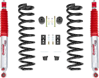 2018 - 2011 Ford F250 / F350 Diesel Single Rear Wheel - 2.5-in. LEVEL IT Suspension System w/ RS9000XL Front Shocks - RS66555R9