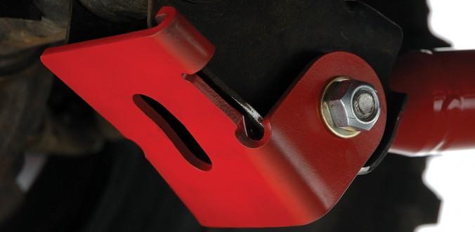 Control Arm Skid - Red - rockGEAR™