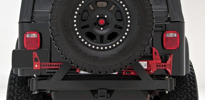 Rear Bumper with Tire Carrier - rockGEAR™