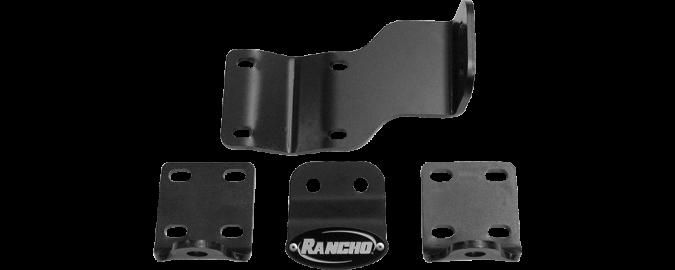Rancho Dual Steering Damper Bracket- RS64101