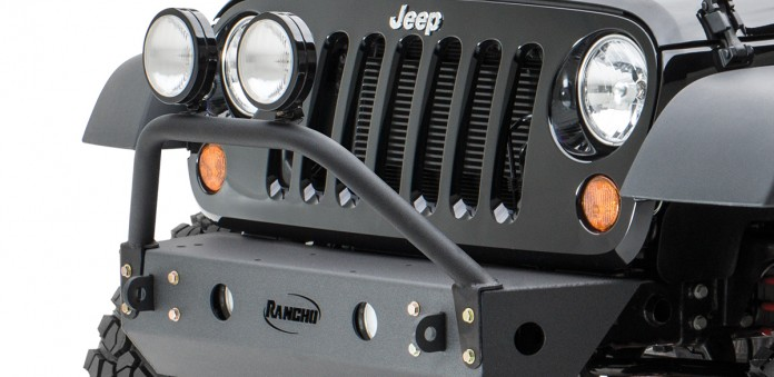 Front Light Bar / Grill Guard - rockGEAR™