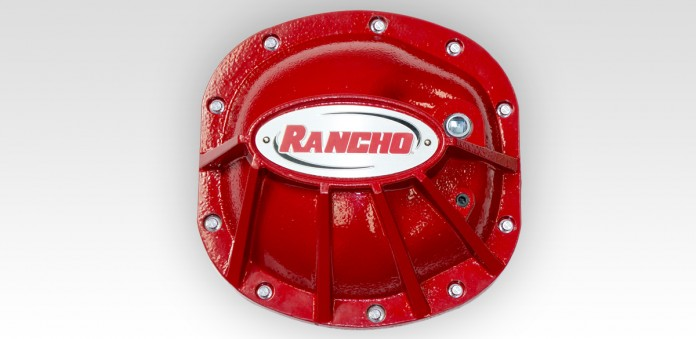 Differential Cover - Dana 30 - Red - rockGEAR™