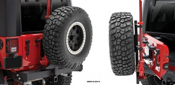 Rear Bumper with Tire Carrier - NEW - rockGEAR™