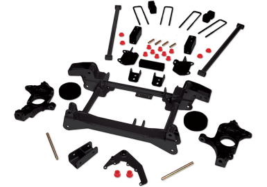 2010 - 2001 Chevy Silverado / GMC Sierra 2500HD 4WD - 4-in. Suspension System - Black - RS6548B