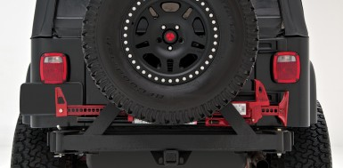 Rear Bumper with Tire Carrier - rockGEAR™