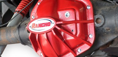Differential Cover - Dana 60 - Red - rockGEAR™ - RS6245