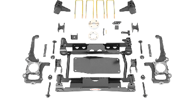 2018 - 2017 Ford F150 - 4.5-in. Suspension System - RS66505B