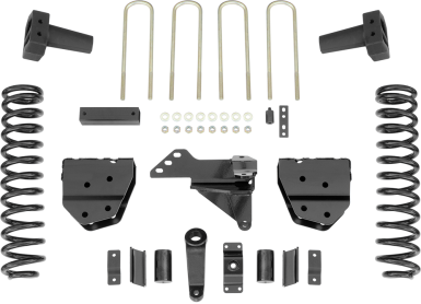 2017 - 2011 Ford F250 / F350 4WD Diesel - 5-in. Drop Bracket System - RS66554B