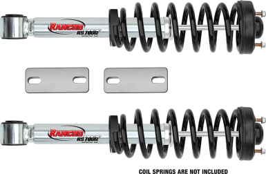 2016 - 2007 Toyota Tacoma 2/4WD 6-Lug / 4Runner 4WD - 2.5-in. LEVEL IT System w/ RS7000MT Front Shocks - RS66903R7
