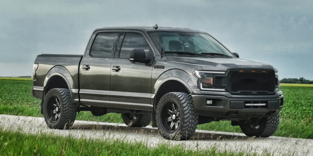 Ford-F-150-On-Dirt-Road