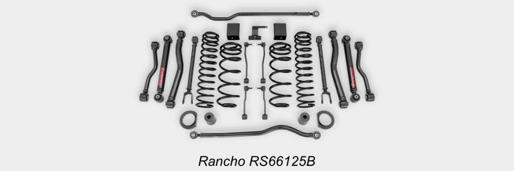 Rancho-RS66125B-Suspension-System