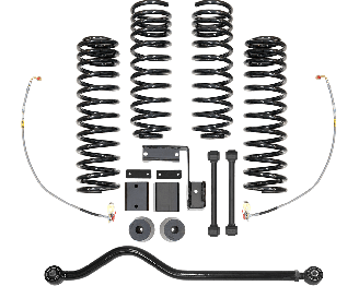 2017 - 2007 Jeep Wrangler JK 2/4 Door - 3-3.5-in. RHD Progressive Sport System - RS66110BEXP