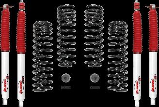 2018 - 2007 Jeep Wrangler JK 4 Door - 2-in. Sport System w/RS5000X Shocks - RS66118BR5