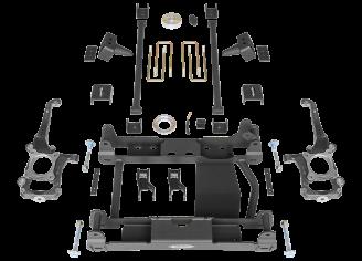 2016 - 2015 Ford F150 4WD - Black - RS66501B