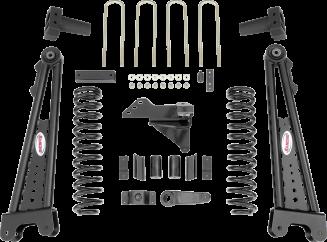 2018 - 2011 Ford F250 / F350 4WD Diesel - 5-in. Radius Arm System - RS66552B