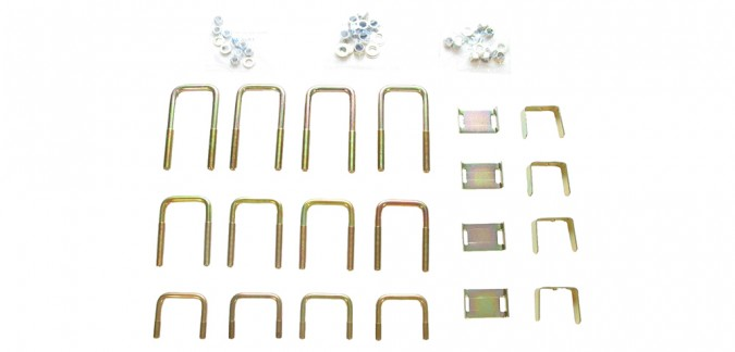 Rancho Lev-A-Load Adjustable Leaf Bracket Kit - RS50616
