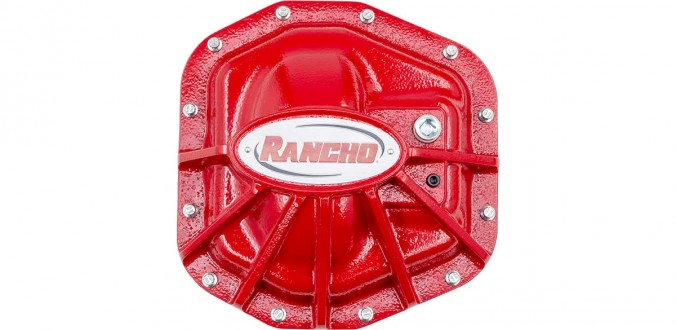 Rancho Differential Cover - Dana 44 - Rear - RS62120