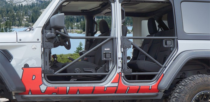 Tube Doors - Installed - rockGEAR™