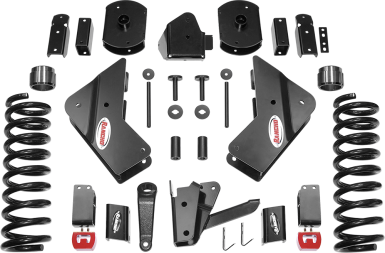 2018 - 2014 Ram 2500 4WD - 4.5-in. Drop Bracket Sport System - Black - RS66452B
