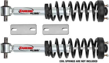 2013 - 2007 Chevy Silverado / GMC Sierra 1500 - 2-in. LEVEL IT System w/ RS7000MT Front Shocks - RS66303R7