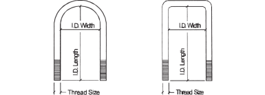 Rancho U-Bolt Kit - RS17470