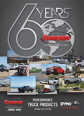 Rancho® Performance Suspension & Shocks: 2015 Summer Truck Buyer's Guide