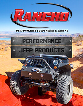 Rancho® Performance Suspension & Shocks: 2017 Jeep Buyer's Guide