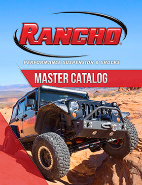 Rancho® Performance Suspension & Shocks: 2017 Catalog