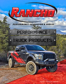 Rancho® Performance Suspension & Shocks: 2017 Truck Buyer's Guide