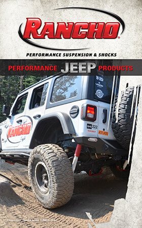 Rancho® Performance Suspension & Shocks: 2019 Jeep Buyer's Guide