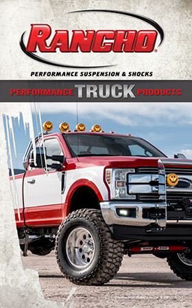 Rancho® Performance Suspension & Shocks: 2019 Truck Buyer's Guide