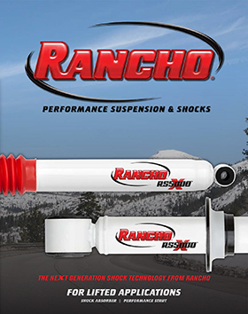 Rancho® Performance Suspension & Shocks: RS5000™X Shock Absorber