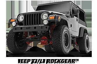 Jeep TJ / LJ rockGEAR™