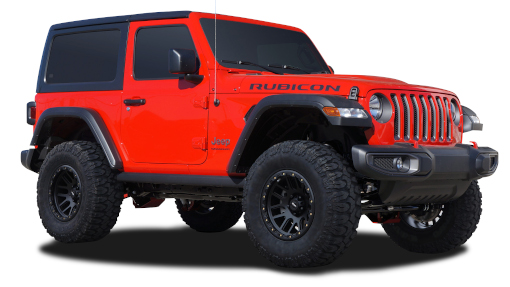 2020 - 2018 Jeep Wrangler JL - 3-in. Suspension System - RS66121BR9