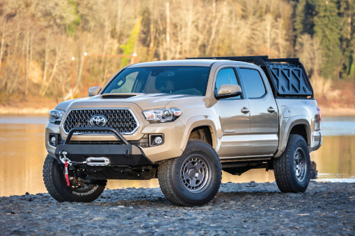 2020 - 2005 Toyota Tacoma 2/4WD, Exc.TRD PRO / 5 Lug - 2.5-in. Suspension System