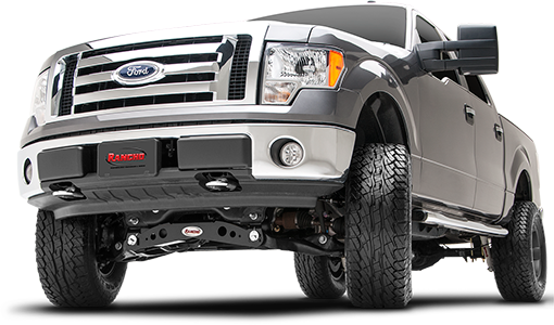 2013 - 2010 Ford F150 4WD -  4-in. Suspension System