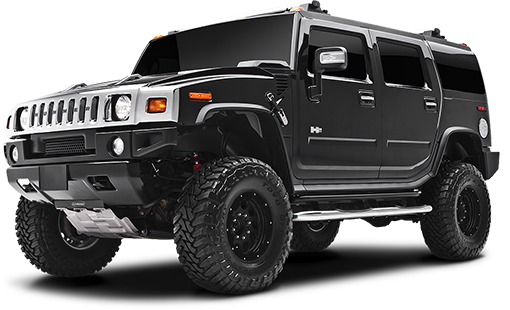 2010 - 2003 Hummer H2 - Rear Air Suspension - 4-in. Suspension System - Black - RS6557B