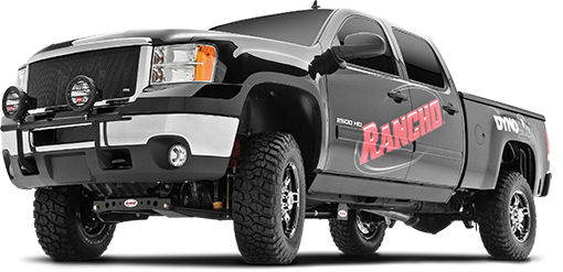 2018 - 2011 Chevy Silverado / GMC Sierra 2500HD 4WD - 4-in. Torsion Bar Drop System - Black - RS6564B
