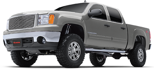 2013 - 2007 Chevy Silverado / GMC Sierra 1500 4WD - 4-in. Suspension System - Black - RS6583B
