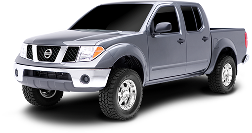 2004 - 2000 Nissan Frontier 4WD - 2.5-in. Suspension System