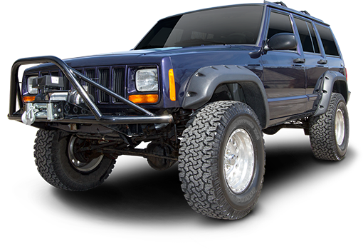 2001 - 1984 Jeep Cherokee XJ - O.E. Dana Rear Axle - 3.5-in. Suspension System - RS66003B