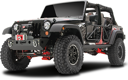 2018 - 2007 Jeep Wrangler JK 2/4 Door - 4-in. Crawler Long Arm System - RS66115B