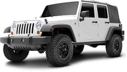 2016 - 2007 Jeep Wrangler JK 4 Door - 2-in. Sport System w/RS9000XL Shocks - Black - RS66109BR9