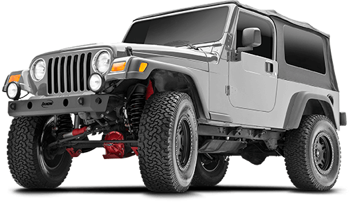 2006 - 1997 Jeep Wrangler TJ - 2.5-in. Suspension System - RS6503B
