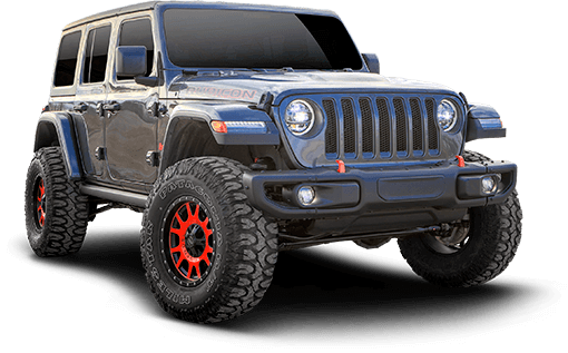 2018 Jeep Wrangler JL Unlimited Rubicon 4WD - 2-in. Sport Suspension System w/RS5000X Shocks
