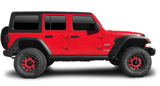 2020 - 2018 Jeep Wrangler JL Unlimited Rubicon 4WD - 2-in. Sport Suspension System w/ RS9000XL Shocks